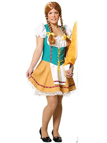 DISBACANAL Disfraz de Tirolesa Mujer - Único, M: Amazon.es ...