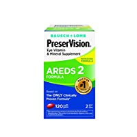 PreserVision AREDS 2 Suplemento de vitaminas y minerales 120 unidades de geles suaves, el empaque puede variar