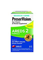 view larger   #1 recommended brand by eye doctors for people with moderate-to-advanced AMD.1 Brought to you by Bausch + Lomb — the leader in eye vitamins.2   PreserVision AREDS2 Formula builds on the original, clinically proven Pre...