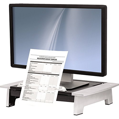 Fellowes Office Suites Standard Monitor Riser Plus (8036601) (2-Pack)