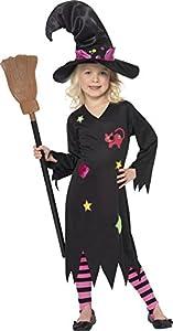 SMIFFYS Costume Carnevale Halloween Strega Cenerina – Harry Potter film –  bambina – vestito streghetta 2fd7201e4cf