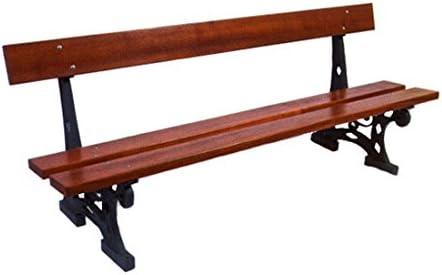 mes-meubles-jardin – Banco Versalles fundido y madera: Amazon.es: Jardín