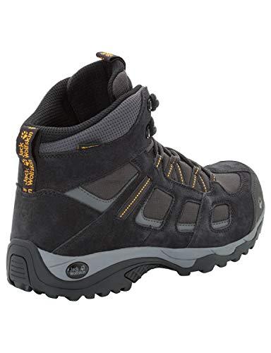 Jack Wolfskin Herren Vojo Hike 2 Texapore MID M Wasserdicht Trekking-& Wanderstiefel, Grau (Phantom 6350), 43 EU 7