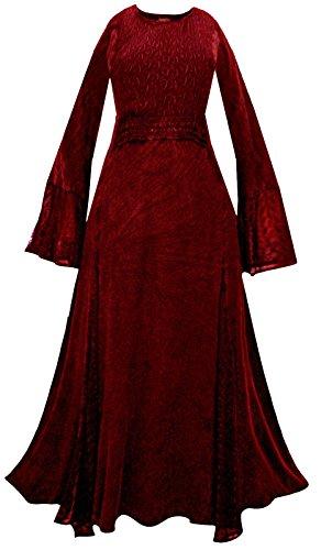 rot Kleid rot Damen Aeon Damen Aeon IqCtwCngvH
