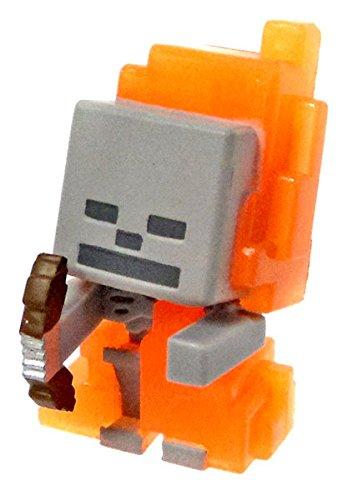 "Minecraft: Series 5 - Ice: Skeleton in Flames: 1"" Mini Figure"