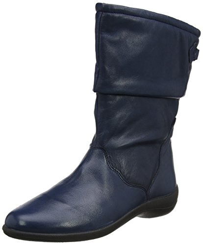 Navy PADDERS Calf Regan Boots Womens Length wEqXdE1r