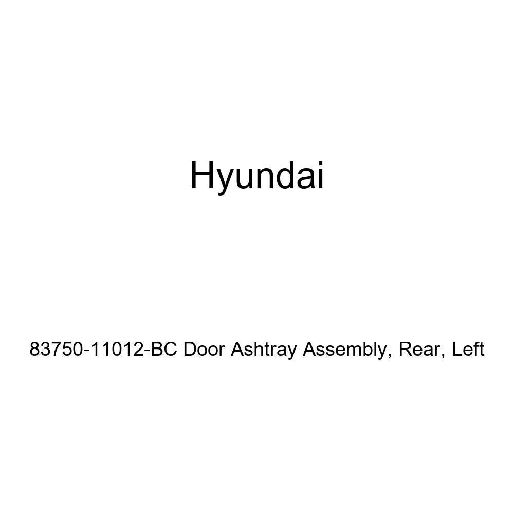Genuine Hyundai 83750-11012-BC Door Ashtray Assembly Rear Left