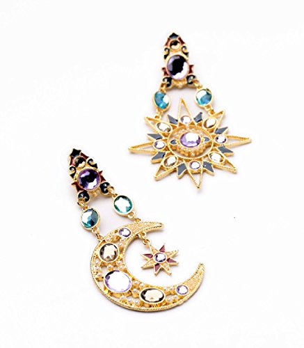 Fun Daisy New Design Jewelry Vintage Moon And The Stars Retro Fashion - Design Fashion Jewelry