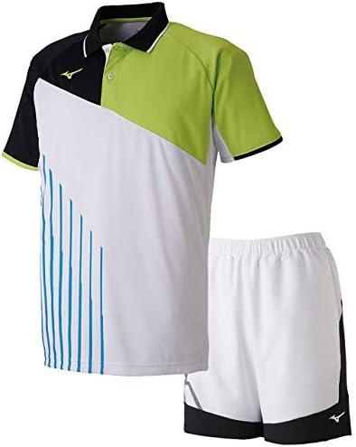 ゲームシャツ&ゲームパンツ上下セット(ホワイト/ホワイトブラック) 62JA9003-73-62JB9001-01