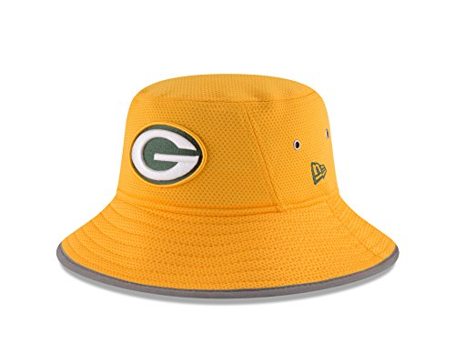 c5e7d9c05 Green Bay Packers Training Camp Reverse Team Color Bucket Hat ...