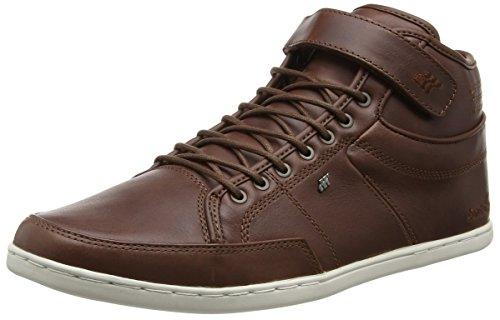 Boxfresh Swich Prem Icn Lea Chnt/Tpe - Zapatillas altas Hombre Marrón - Brown (Chestnut)