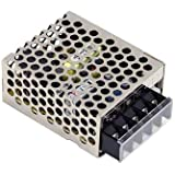 MEAN WELL RS-15-5 AC to DC Power Supply Single Output, 5V 3 Amp 15W