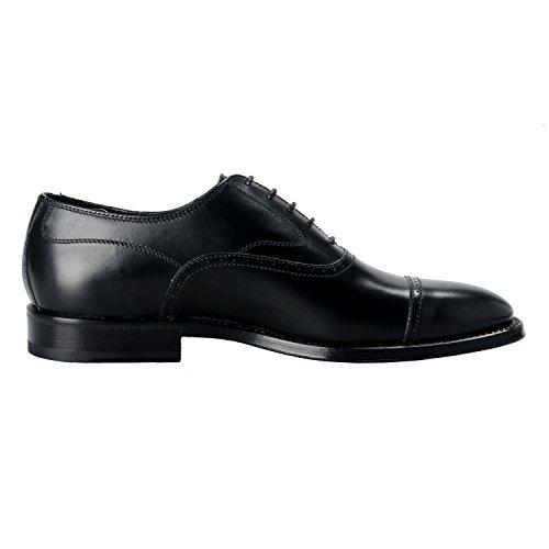 Tods Mens Black Leather Grant Oxford Dress Shoes US 6.5 IT 5.5 EU 39.5 l1lgKvJo