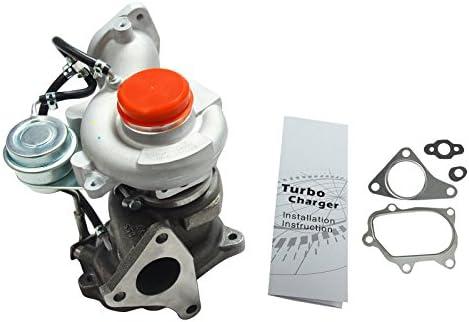 BLACKHORSE-RACING TD04L 49477-04000 14411AA710 Turbo Charger for 2008-2014 Subaru Impreza WRX GT Forester XT EJ255 2.5L Engine