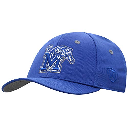 Top of the World Memphis Tigers Youth Hat Icon, Navy, Adjustable