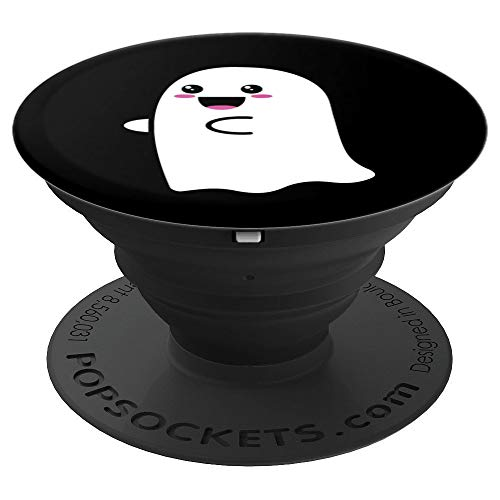 Cute Ghost Spooky PopSockets Grip - PopSockets Grip and Stand for Phones and Tablets -