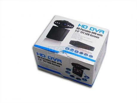 ElectroFlip HD Portable DVR Camera with 2.5-Inch TFT LCD Screen