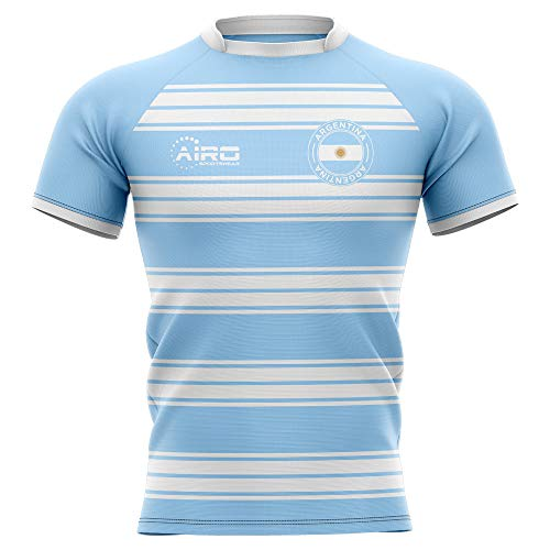 - Airo Sportswear 2019-2020 Argentina Home Concept Rugby Football Soccer T-Shirt Jersey