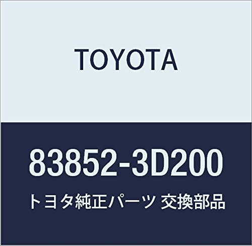 TOYOTA 83852-3D200 Speedometer Glass