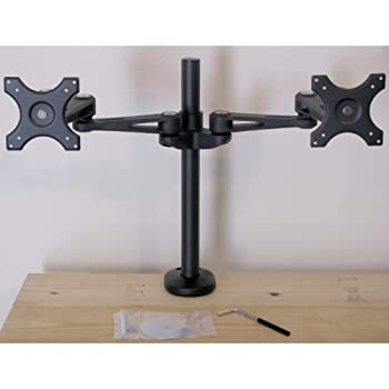 Amazon Com Dual Monitor Stand Grommet Base Computer