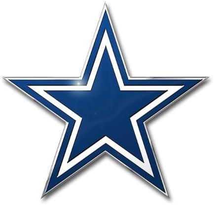 NFL Dallas Cowboys Chrome Metal Car Emblem