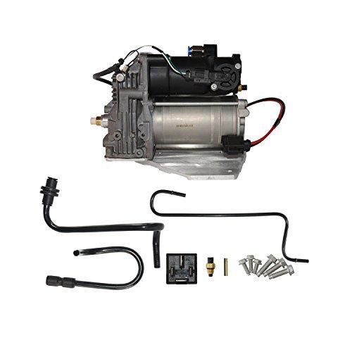 GELUOXI Air Suspension Compressor Pump Fit For Land Rover LR3 LR4 & Range Rover Sport LR015303 LR023964 (Land Rover Suspension Kits)