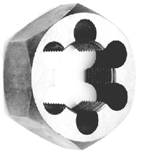 Carbon Steel Hex Die, Metric (22X1.5 thread cut) by Holesaws Unlimited