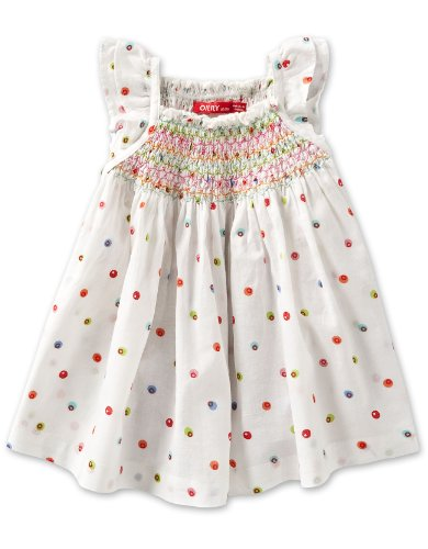 Oilily Little Girls' Bonita Hand Smocked Blouse