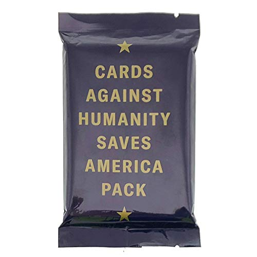 Cards Against Humanity Saves America Pack (Original Version) (Cards Against Humanity 12 Days Of Holiday Bullshit)