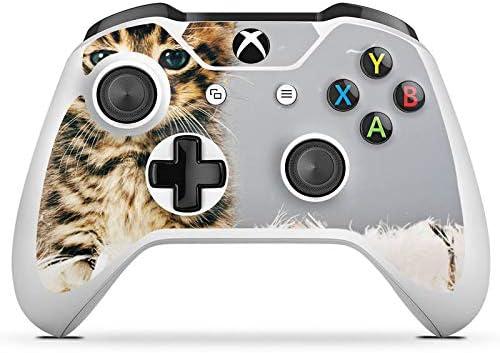 Microsoft Xbox One S protector de pantalla Pegatinas Skin de vinilo adhesivo decorativo Kitten bebé gato Kitty: Amazon.es: Electrónica