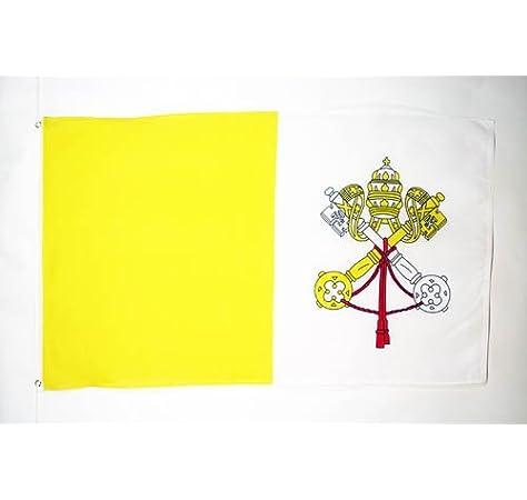 AZ FLAG Bandera de la Ciudad del Vaticano 150x90cm - Bandera ...