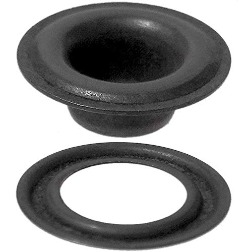 Stimpson Self-Piercing Grommet and Washer Dull Black Chem Reliable, Durable, Heavy-Duty #3 Set (300 Pieces of Each) by Stimpson Co., Inc. (Image #4)
