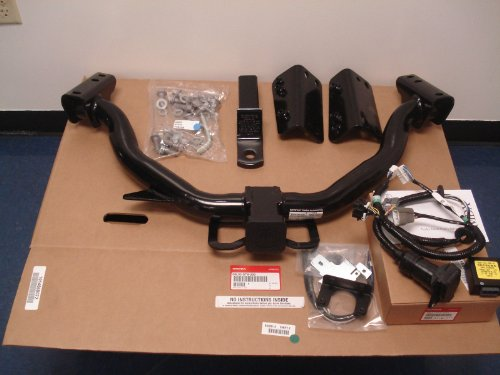 41i8ZZc qQL amazon com acura oem factory trailer hitch and harness 2010 2013 acura mdx wiring harness at bakdesigns.co
