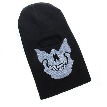 Amazon.com: Elecday pasamontañas calavera máscara de cabeza ...