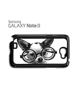 Doggie Geek Nerd Cute Mobile Cell Phone Case Samsung Note 2 Black