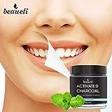 Beaueli Activated Charcoal Teeth Whitening Powder