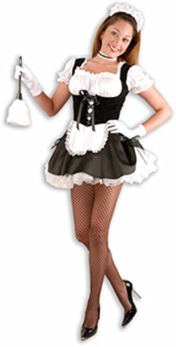 FiFi The French Maid Costume - X-Small - Dress Size 3-5 (Haloween Costume Ideas For Couples)