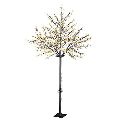 Lightshare Cherry Blossom City Tree, Brown