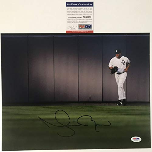 Autographed/Signed Mariano Rivera New York Yankees 11x14 Baseball Photo PSA/DNA COA #2