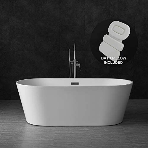 Woodbridge B-0013/BTA1513 Acrylic Freestanding Bathtub Contemporary Soaking Tub