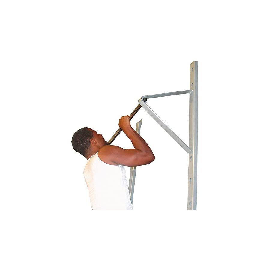 Champion Barbell Wall Mounted Adjustable Pull Up Bar