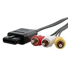 Generic Composite AV Cable for Nintendo N64 Gamecube - Nintendo 64