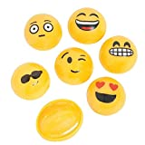 Emoji Poppers - Prizes, Gifts 12 per Pack