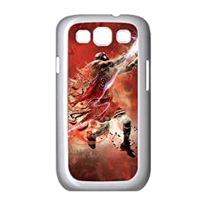 Yearinspace Abstract Michael Jordan 23 Samsung Galaxy S3 Case Protective For Girls, Case For Samsung Galaxy S3 Mini For Men [White]