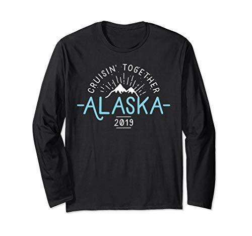 Matching Alaska Cruise 2019 Long Sleeve T Shirt Family Group