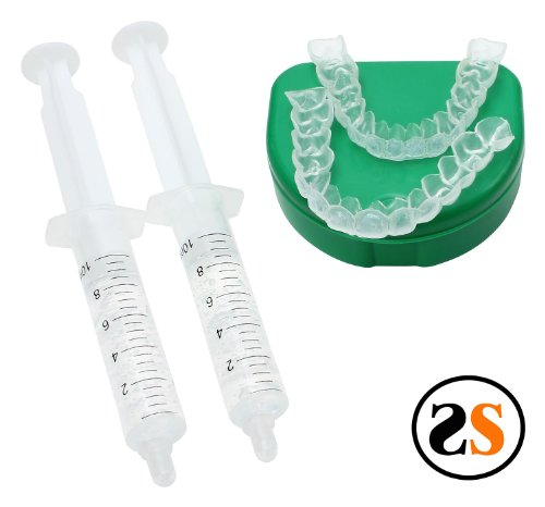 Upper Retainer - 2 Person (Couples) Custom Teeth Whitening/bleaching Trays with Reservoirs