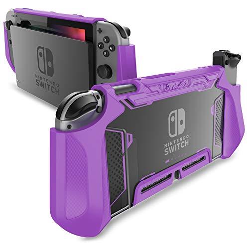 Funda para Nintendo Switch y control Joy-con violeta