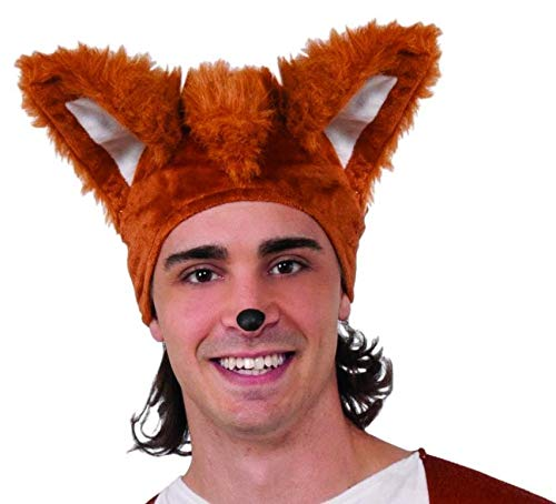 Forum Adult's Fox Costume Hat, One -