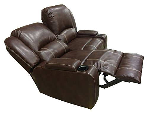 Clay Madison Marquee Row Of 2 Loveseat Sofa Style Theater Seating Cantina Cocoa Buy Online