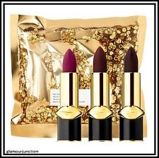 Pat McGrath MATTETRANCE lipstick trio VICIOUS VENOMS